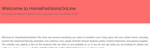 Home Fashions Online
